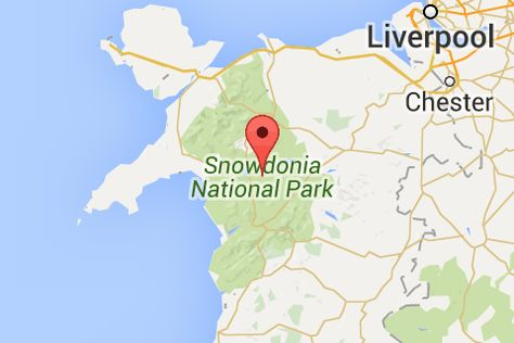 Snowdonia National Park Map Pinterest