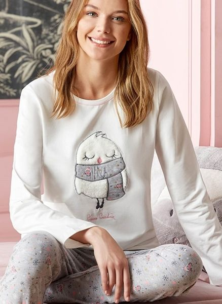 Loungeable femme pyjamas set soft Sherpa à col roulé ou à capuche femme Loungewear