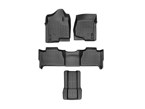 2008 Chevrolet Tahoe Floor Mats Laser Measured For A Perfect Fit Weathertech