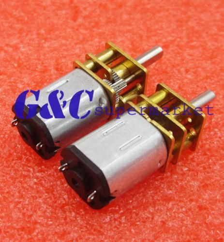 DC 12V 1000RPM Micro Speed Reduction Gear Motor with Metal