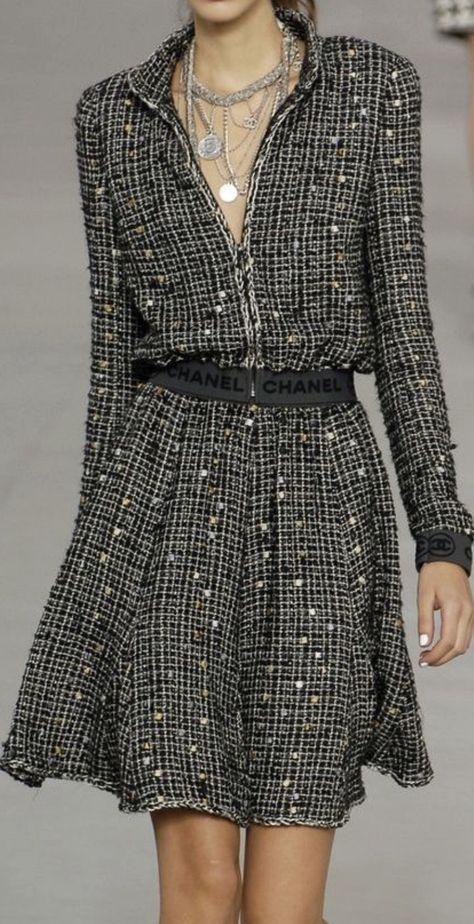 66 New ideas moda chic chanel haute couture Source by fashion idea