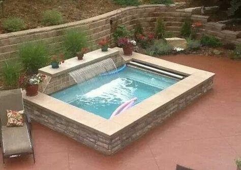 Lovely Kleiner Pool Im Garten   Pool Für Kleine Grundstücke | Pool | Pinterest |  Kleiner Pool, Garten Pool Und Gärten