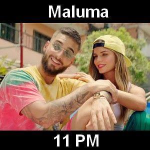 Acordes D Canciones: Maluma - 11 PM