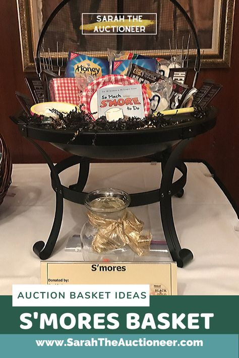 11 Ideas for Silent Auction Baskets or Raffle Baskets — Sarah Knox Auctioneer for Fundraising Benefit & Charity Events Fundraiser Baskets, Raffle Baskets, Gift Baskets For Men, Themed Gift Baskets, Gift Card Displays, Gift Card Basket, Beer Basket, Silent Auction Baskets, Auction Items