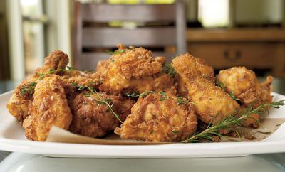 Thomas Keller S Buttermilk Fried Chicken Best Fried Chicken Recipe Fried Chicken Recipes Food