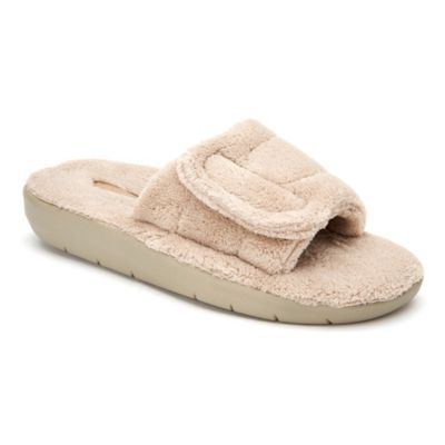Taupe   Copper fit, Slide slipper