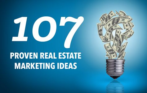 107 Outside-the-Box Real Estate Marketing Ideas & Tips (With Examples)