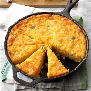 Creole Corn Bread Recipe -Corn bread is a staple of Cajun and Creole cuisine. This is an old favorite that I found in the bottom of my recipe drawer, and it really tastes wonderful. —Enid Hebert, Lafayette, Louisiana Source by stdpoodle Louisiana Recipes, Southern Recipes, My Recipes, Cooking Recipes, Favorite Recipes, Donut Recipes, Loaf Recipes, Recipies, Creole Cooking
