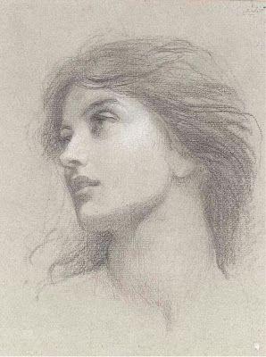 Pre Raphaelite Art: (Sir) Francis Bernard Dicksee - Studies