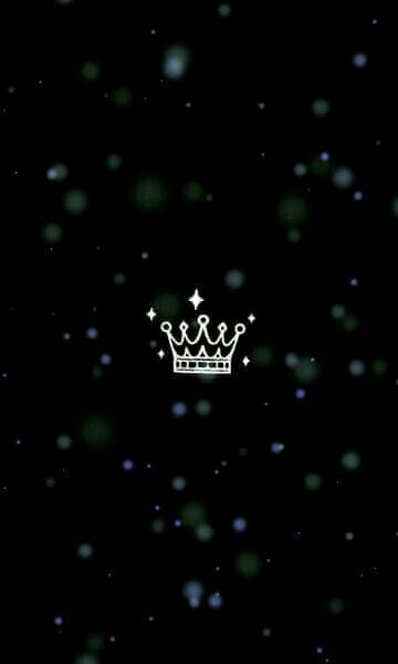 Queen Black Wallpaper Crown