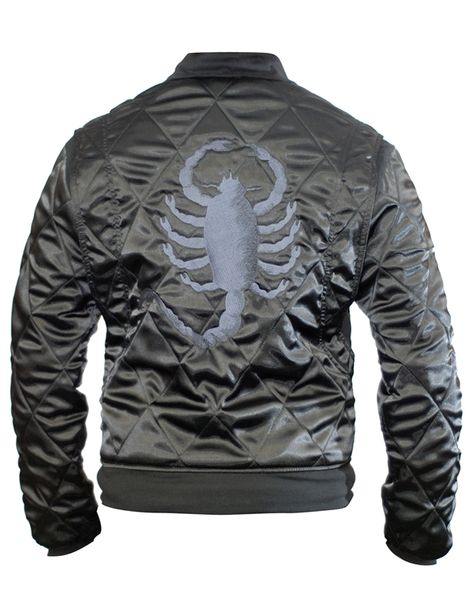 """""""Drive"""" Mens Stealth Replica Racer Jacket"""