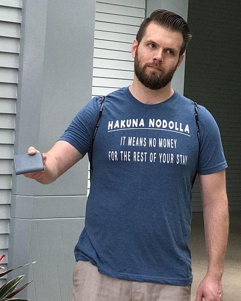 Men's Funny Disney Vacation Shirt Hakuna Nodolla / Most Expensive Day Ever Shirt / Hakuna Matata Disney Shirt / Funny Disney Money T-Shirt