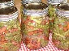 Canning Three Bean Salad