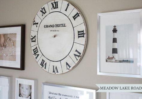 Hometalk :: DIY Vintage Clock Face
