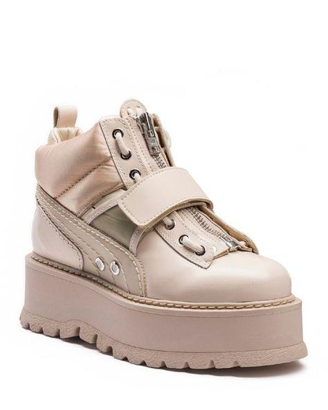 Fenty Puma x Rihanna Women's Strap Platform Sneaker Boots