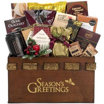 Holiday Celebration Corporate Christmas Gift Baskets Delivered