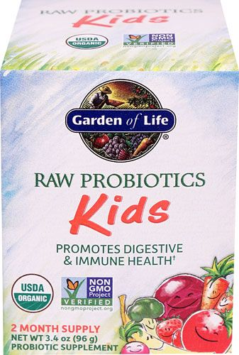 Garden Of Life Raw Probiotics Kids 3 4 Oz Whole Food