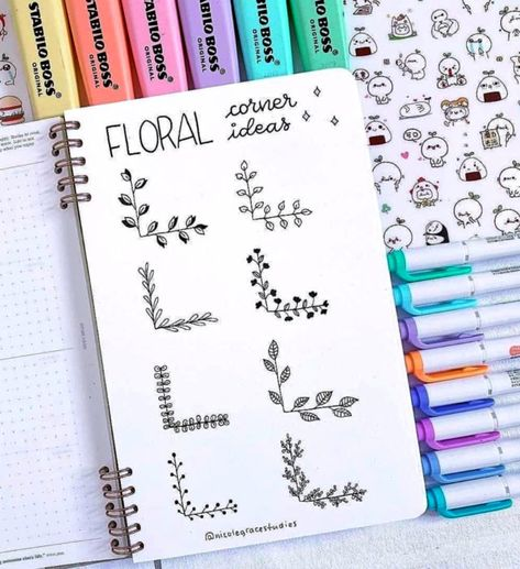 Bullet Journal Doodles: 20 Amazing Doodle Ideas For Beginners & Beyond! - Meraadi These bullet journal doodles and doodle tips and ideas are exactly what you need to learn how to doodle. Perfect for beginners and more advanced doodlers!