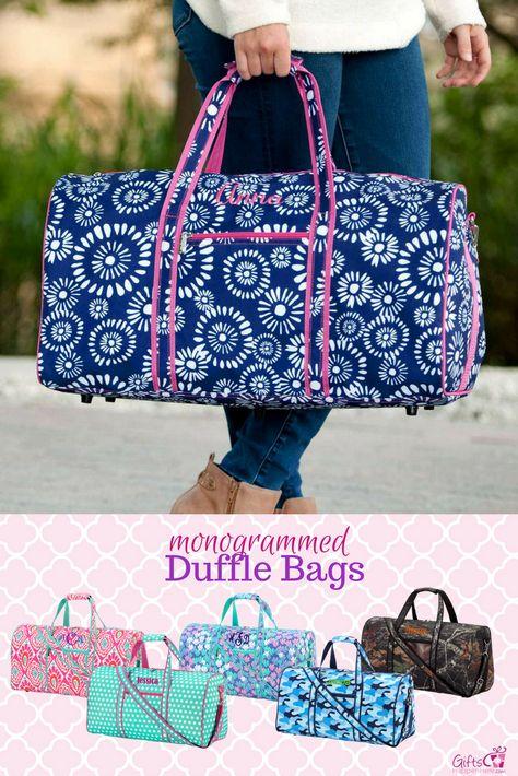 d80c08e71 Personalized Large Barrel Duffel Bag Kids Teen Travel - Camo Woods ...