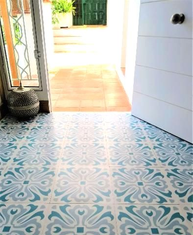 19 99havana Day Vinyl Floor Tiles Vinyl Tile Flooring Bathroom Retro Vinyl Flooring Vinyl Flooring Uk
