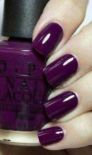 Nails Dark Colors Designs Deep Purple 52 Ideas Purple Nail Art Nails Trendy Nails