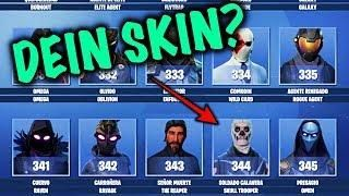 Welcher Fortnite Skin Passt Zu Dir Wir Testen Es Fortnite Battle Royale Fortnite Skin
