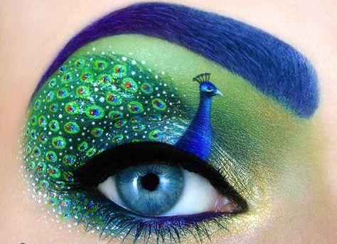 Les créations maquillage de Tal Peleg