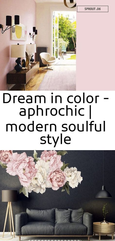 Dream in color - aphrochic | modern soulful style