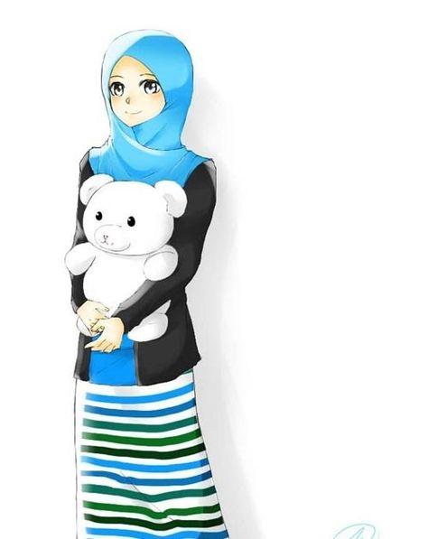 Hijab Cartoon Sketch Pinterest Hashtags Video And Accounts