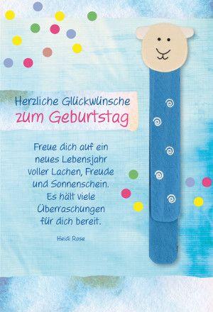 Gluckwunschkarte Zum Kindergeburtstag Herzliche Gl Gluckwunsche