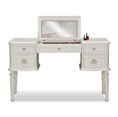 Bouquet White Kids Furniture Vanity Desk Value City Is It Weird That I Want A Child S