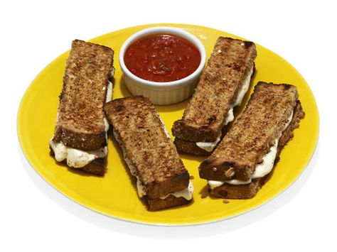 After-School Snack: Have a better period with Toasty Cheese Sticks!   This snack is perfect for satisfying the after-school munchies, and research says that the calcium (in the cheese) may make your menstrual cramps less painful.