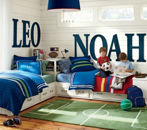 Boys Bedroom Ideas {via The Design Tabloid} (9)
