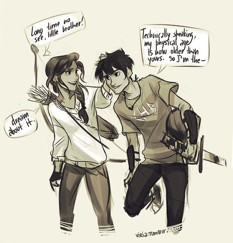 Bianca and Nico di Angelo *viria. I'm dying! Nico looks so happy!(<<<thought you were going to say he looked like Percy Percy Jackson Fan Art, Percy Jackson Fandom, Memes Percy Jackson, Percy Jackson Annabeth Chase, Percy Jackson Books, Percy Jackson Crossover, Solangelo, Percabeth, Piper Mclean