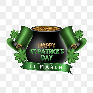 Saint Patricks Day Illustration Element Asset Celtic Ireland Greeting Png Transparent Clipart Image And Psd File For Free Download Irish Celebration St Patricks Day St Patrick S Day