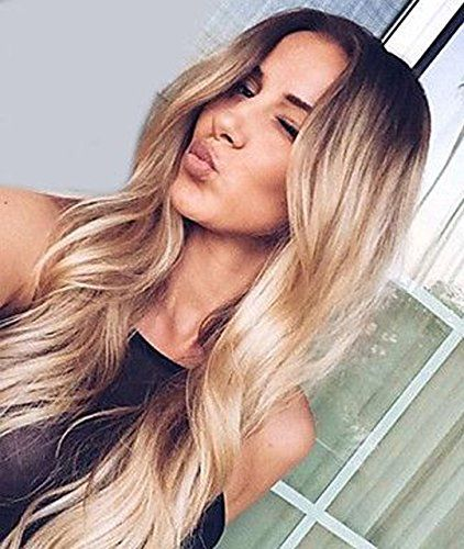 Zenith Golden Brown Ombre Lace Front Wigs