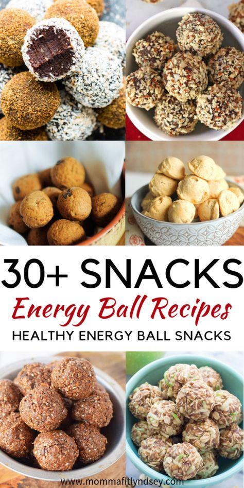 Energy Balls {30+ Energy Ball Recipes for Quick Healthy Snacks}