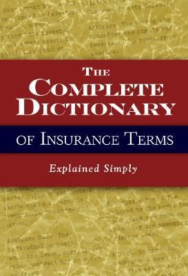 Free Download Pdf The Complete Dictionary Of Insurance Terms