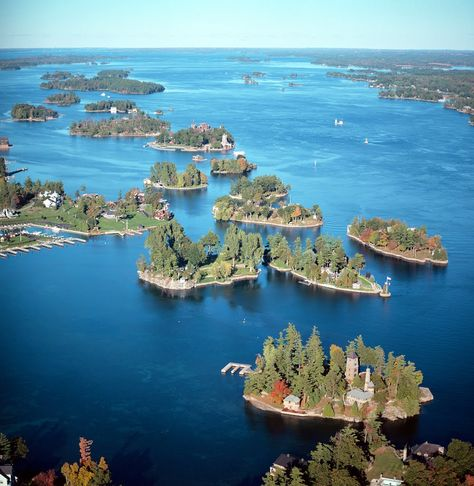 Pullman Island 1000 Islands - Photo from helicopter