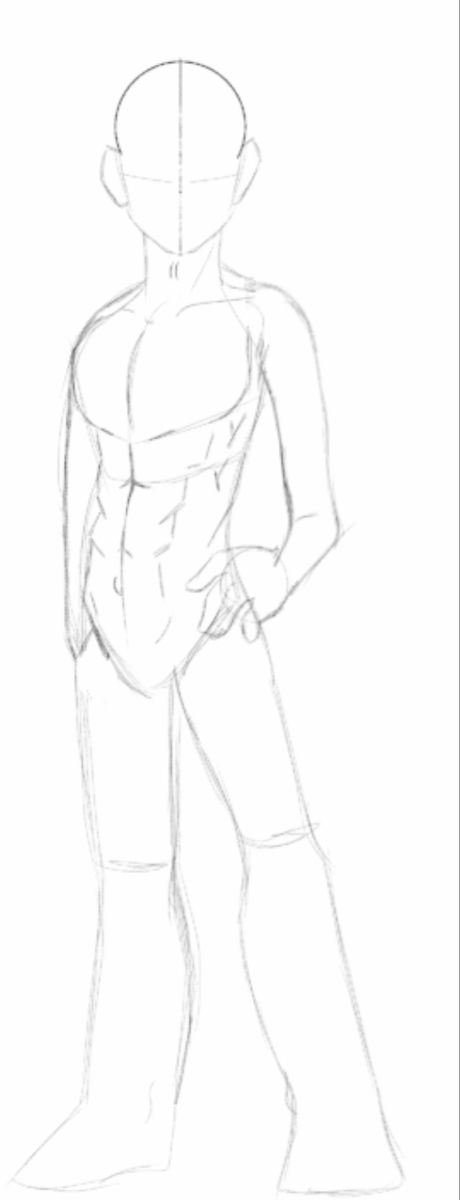 Anime Boy Pose Anime Drawings Tutorials Art Reference Poses Drawing Poses Draw basic lines denoting the proportions of the figure. anime boy pose anime drawings