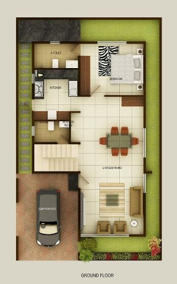 Duplex Floor Plans Indian Duplex House Design Duplex House Map In 2020 Duplex House Design Duplex House Plans Duplex House