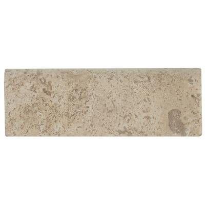 Crema Marfil Marble Bullnose Tile Trim In White Tile Trim Bullnose Tile Emser Tile