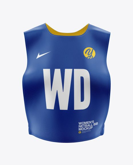 Download Women S Netball Bib Mockup In Apparel Mockups On Yellow Images Object Mockups Design Mockup Free Free Psd Design Psd Designs
