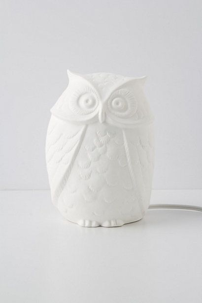 Owl Ablaze Lamp #anthropologie