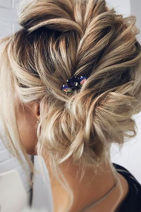 8 Super Cute Short Updos Hairstyles And Haircuts For Amazing Short Hair Short Hair Updo Thick Hair Styles Long Hair Styles