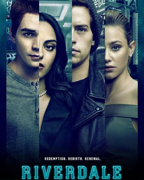 The New poster of Riverdale ! That's before the time jump... Right?!  🤔
