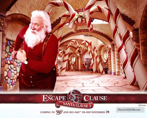 The Santa Clause 3: The Escape Clause - Wallpaper with Tim Allen