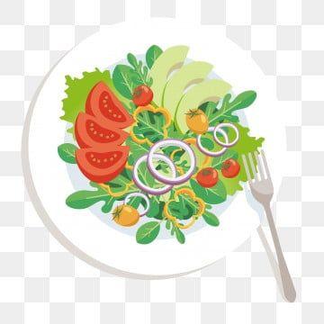 Vegetables Blackboard Creative Food Vegetable Salad Vegetable Cartoon Food Patterns