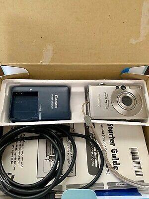Canon Powershot Sd450 5mp Digital Camera In Box With 128sd Digital Camera Digital Powershot