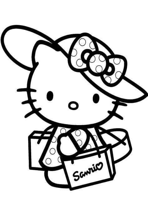 Plein De Hello Kitty Coloring Coloriage Hello Kitty Dessin